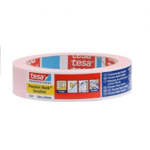 Tesa afplaktape sensitive 25mm breed